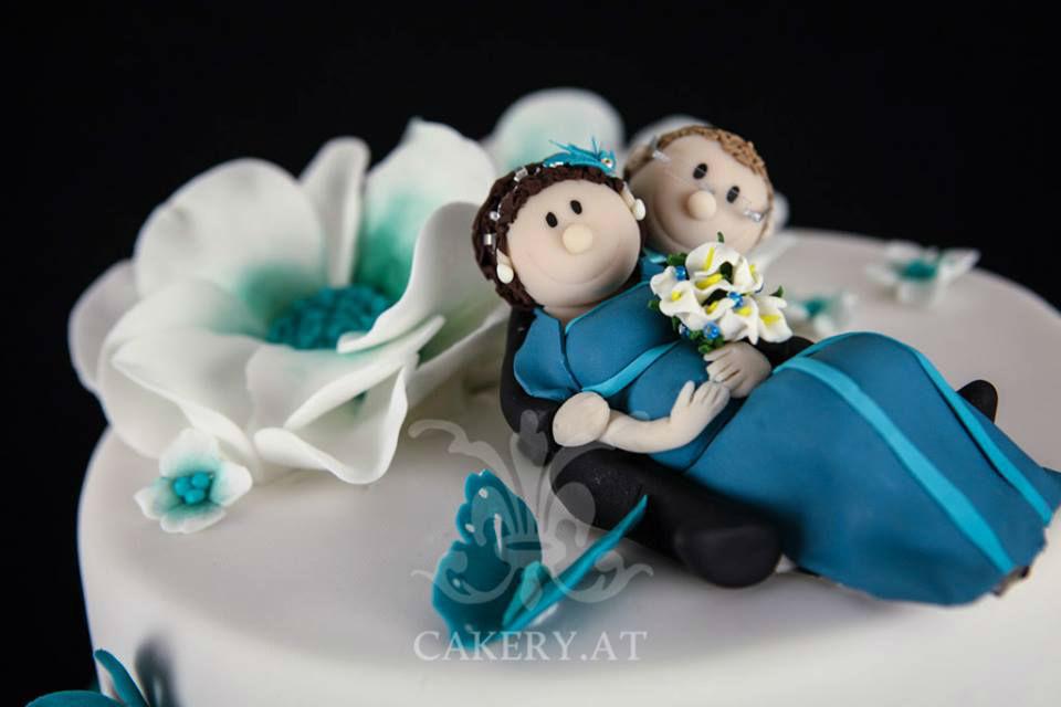 Beispiel: Ihre Wunsch-Hochzeitstorte, Foto: Rita The Cakery.
