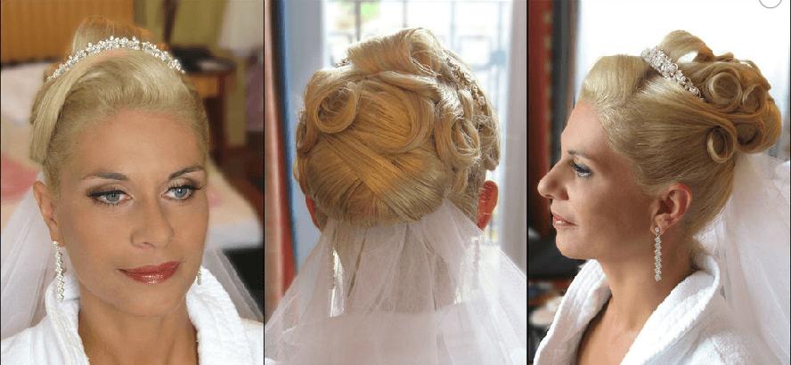 Beispiel: Die Frisur für Ihren schönsten Tag, Foto: Beauty Art Team.