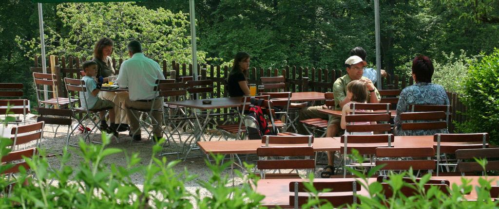 Beispiel: Außenbereich - Terrasse, Foto: Waldrestaurant Zähringer Burg.