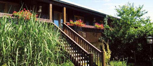 Beispiel: Hotel mit Garten, Foto: Hotel Bock.