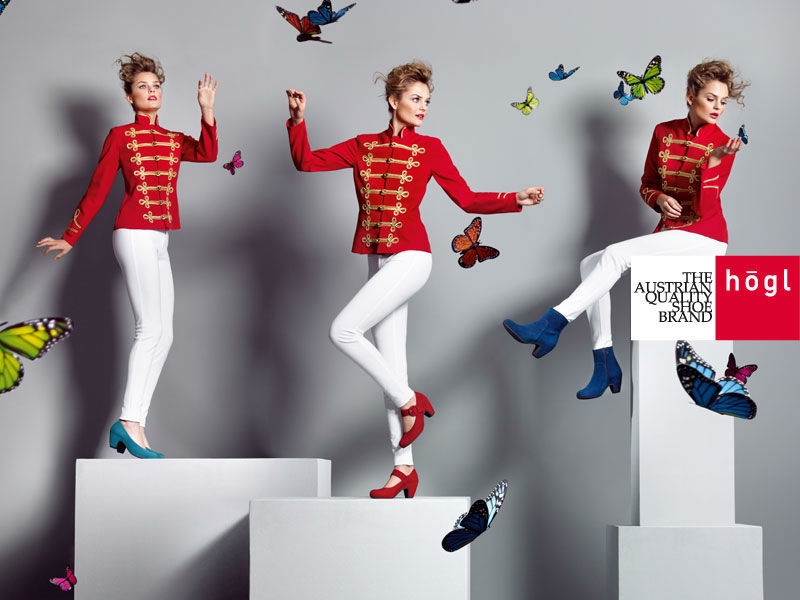 Beispiel: Schuh-Trends, Foto:Högl.