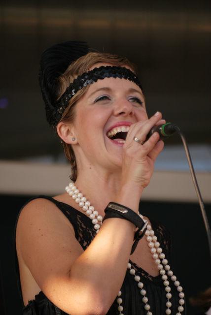 Beispiel: Live - Sängerin, Foto: Melange Royal.