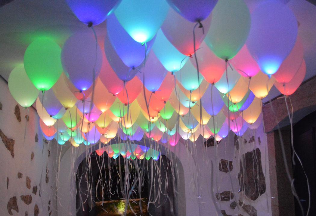 Balões luminosos
