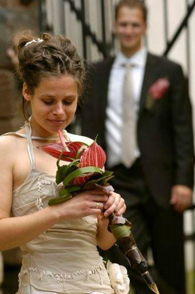 Beispiel: Hochzeitsfloristik, Foto: die kornblume.