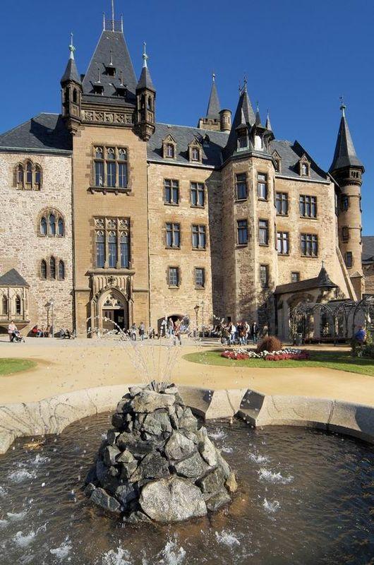 Beispiel: Fassade, Foto: Schloss Wernigrode.