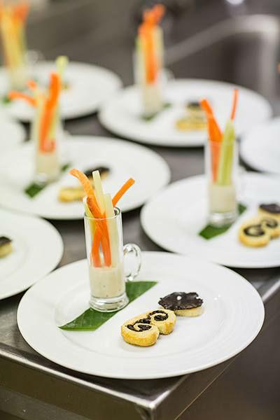 Beispiel: Speisen, Foto: Martinspark Hotel Dornbirn.