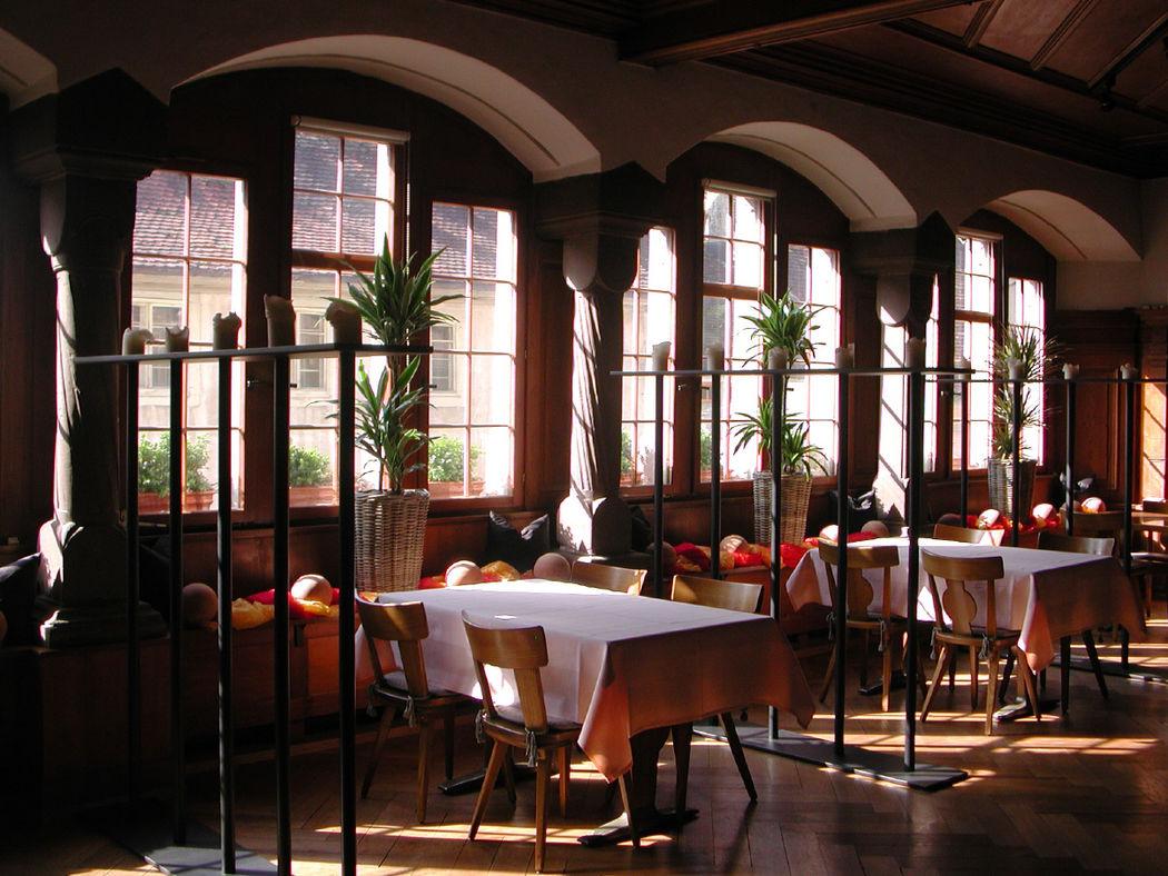 Beispiel: Gaststube, Foto: Restaurant Gemeindehaus.