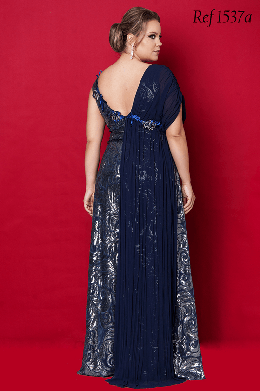 Vestido de festa Plus Size- Aiza Collection