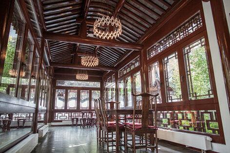Beispiel: Wandelgang, Foto: Chinesisches Teehaus Yu Garden.