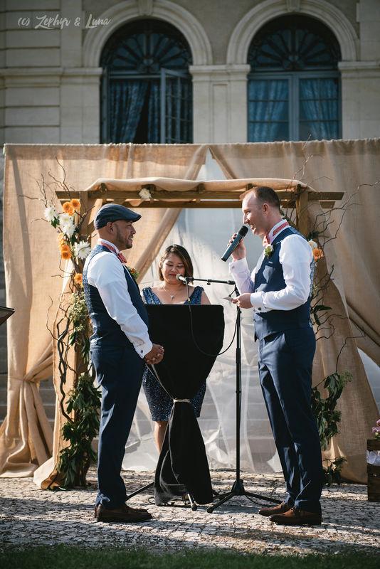 Adam & Danny's ceremony