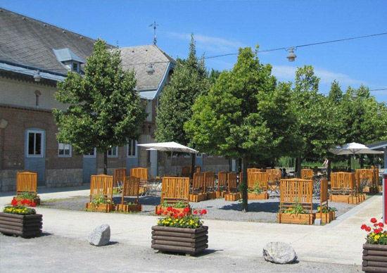Beispiel: Außenfassade, Foto: Felmayer's Gastwirtschaft.