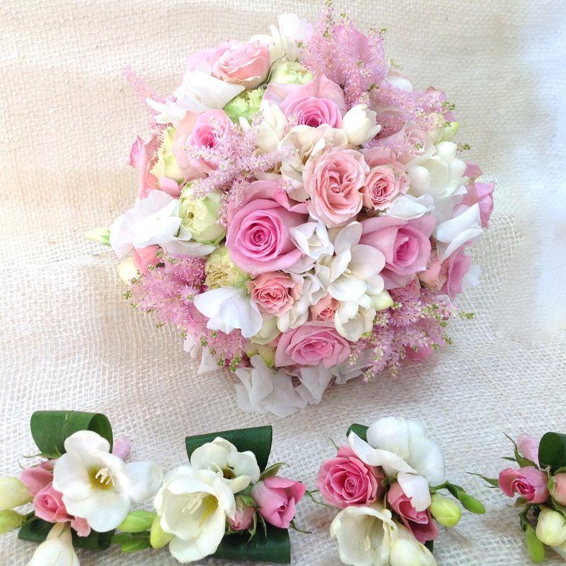 Bouquet tonos pastel