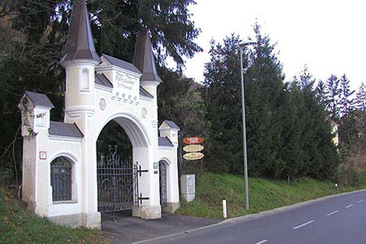 Beispiel: Einfahrt, Foto: Plabutscher Schlössel.