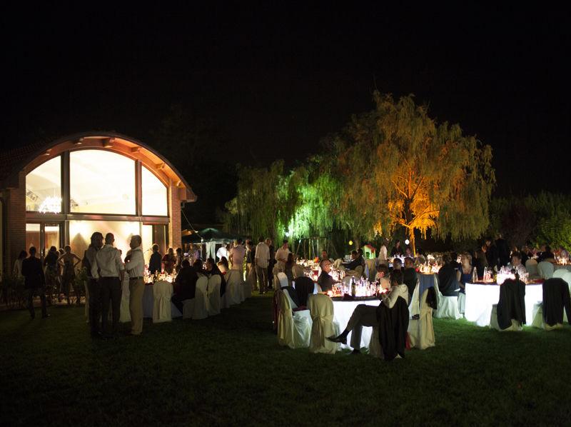 cena nel parco - Villa Rosa