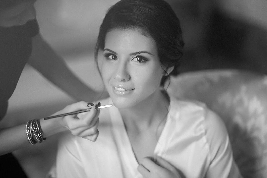 Невеста Оля)) Прическа и макияж: я Фотограф: Андрей Гурьев