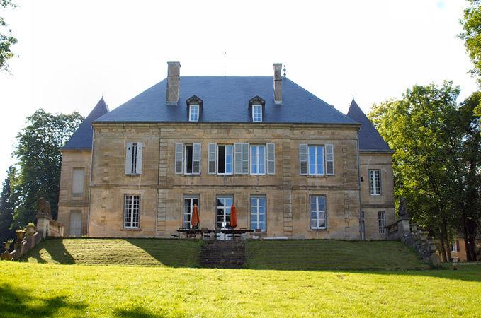 Château: façade arrière