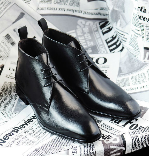 Beispiel: Festliche Schuhe für Männer, Foto: Elsa Coloured Shoes.