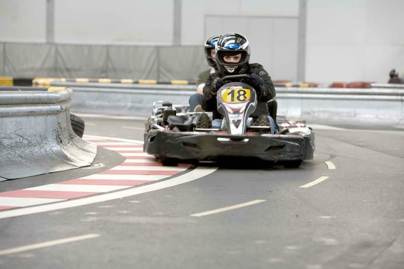 Beispiel: Der Hit für Ihren Junggesellenabschied, Foto: Karting Expodrom.