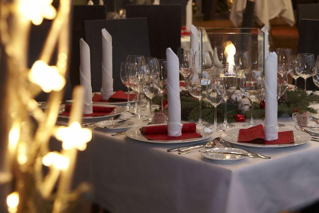 Beispiel: Hochzeitsdekoration, Foto: Partyservice Wahler.