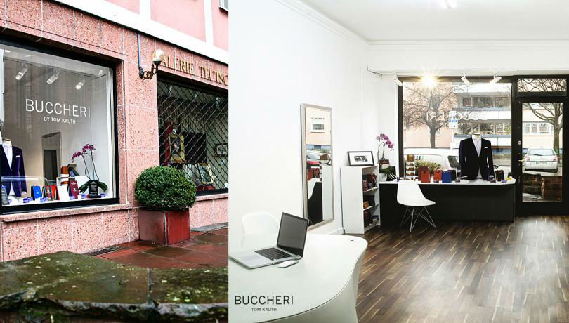 Beispiel: Showroom in Frankfurt, Foto: Buccheri.