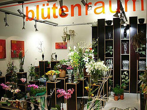 Beispiel: Ladenimpressionen, Foto: Blütenraum.