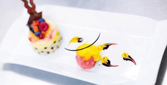Beispiel: Süße Nachspeisen, Foto: Zuspann Finest Catering.