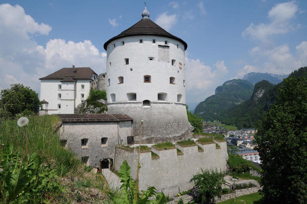 Foto: Blick auf die Festung Kufstein von der Josefsburg aus.