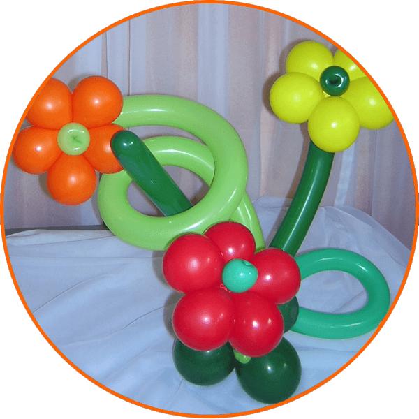Beispiel: Buffetballons, Foto: Babalooni's Fantasy Laden.