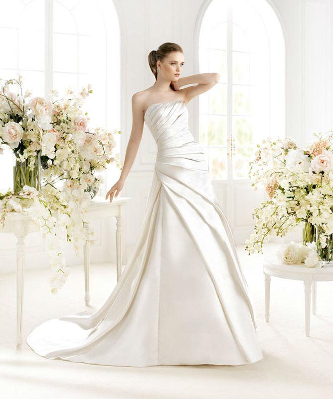 Beispiel: Eleganz in Weiß, Foto: Wedding Center Wien.