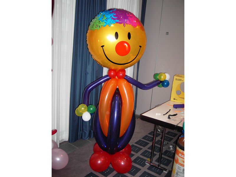 Beispiel: Ballonmännchen, Foto: Dreamballoon.