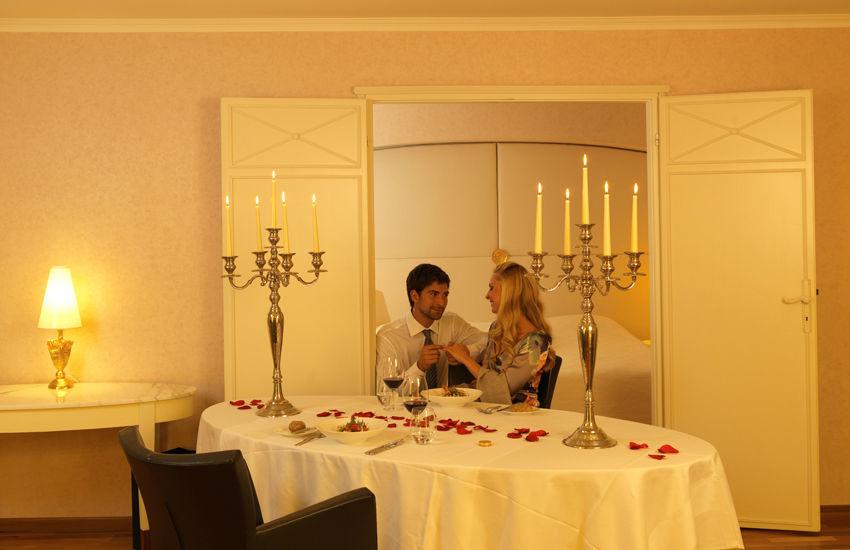 Beispiel: Romantische Atmosphäre, Foto: Hotel des Balances.