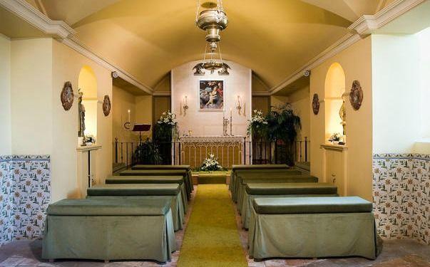 Ses Cases de Sa Font Seca, capilla