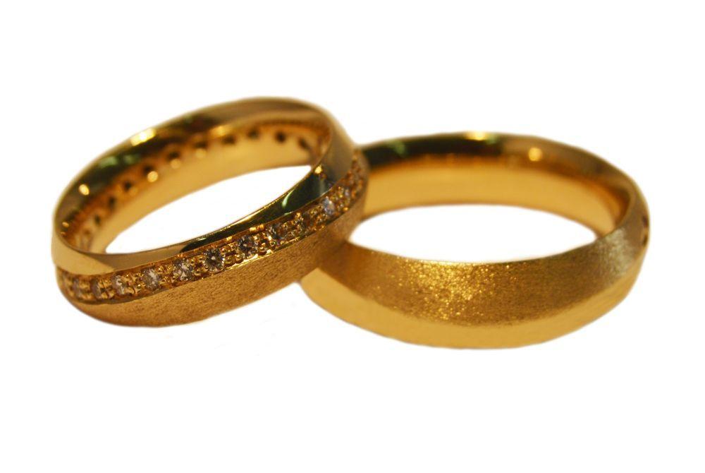 Alianças Casamento Ouro Amarelo ALC137
