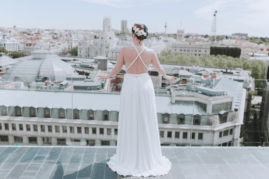 Marta y el cielo de Madrid.