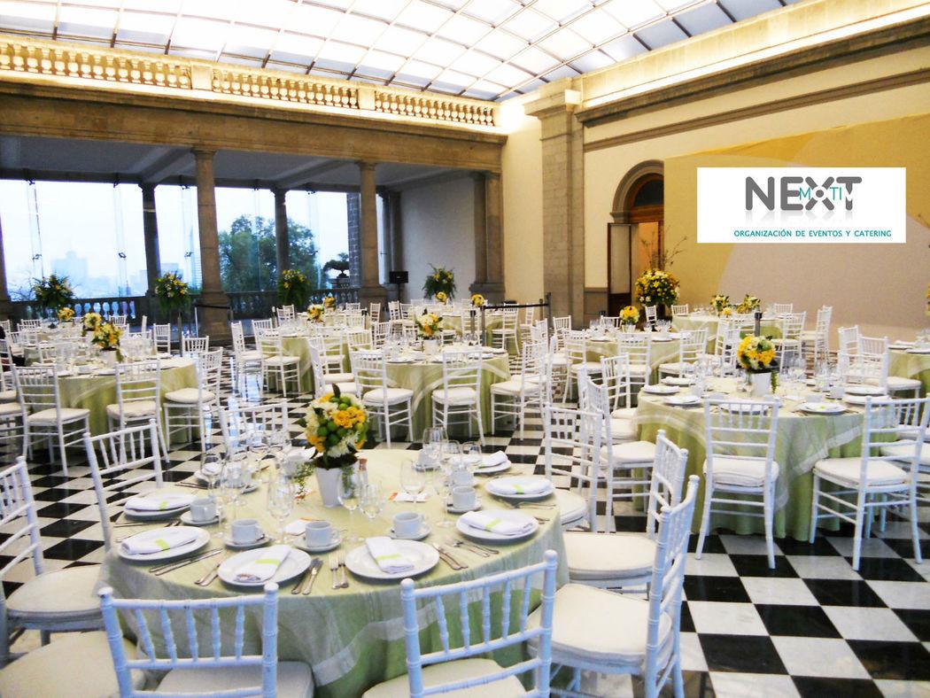 Su boda con nextmotiv_montaje y decoración_silla tiffany blanca