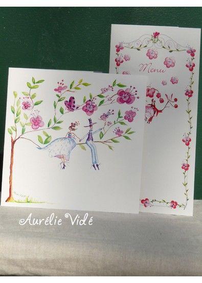 Aurelie vidé faire-part/Le Pommier