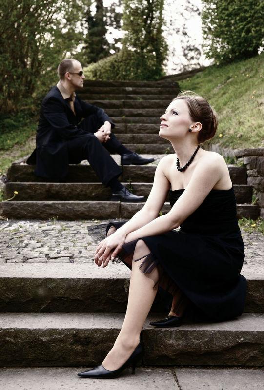Beispiel: Romana Reiff und Pianist, Foto:Soulsonic.