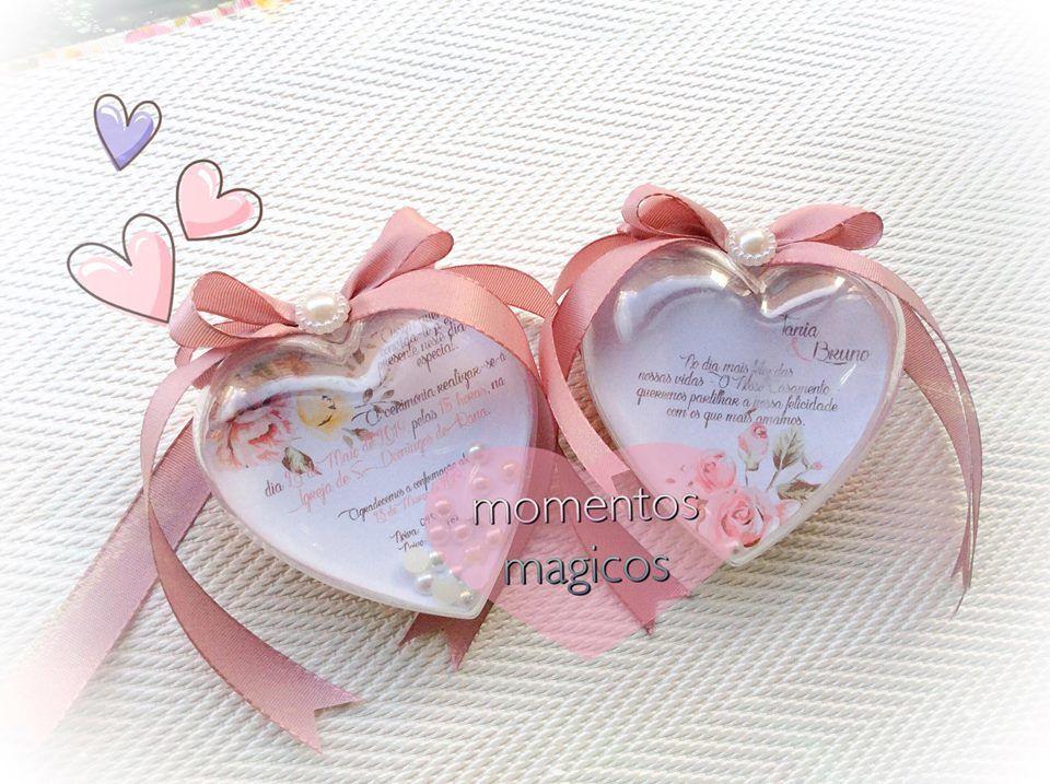 Convite Corações
