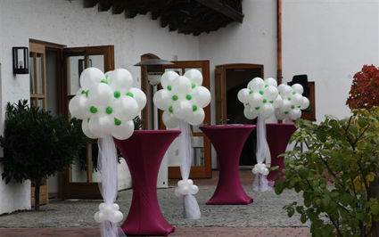 Ballon Werkstatt Hochzeit