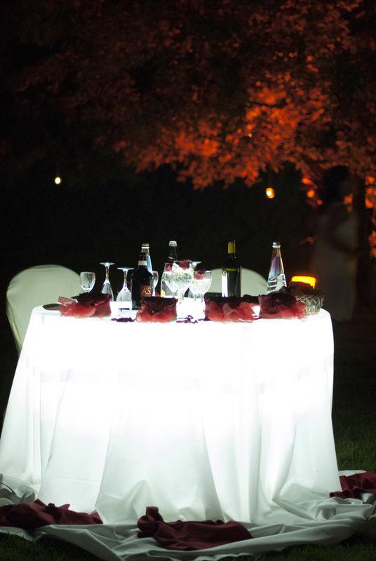 tavolo sposi - Villa Rosa