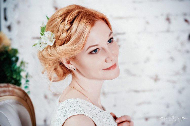 невеста Тамарочка Макияж и причёска - Нелли Шварц Фотограф - Ксения Дерзкая