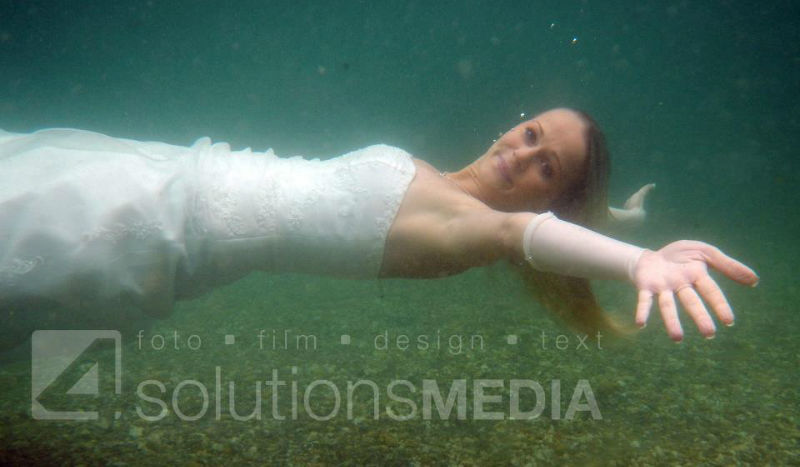Beispiel: Trash the Dress, Foto: 4solutions Media.