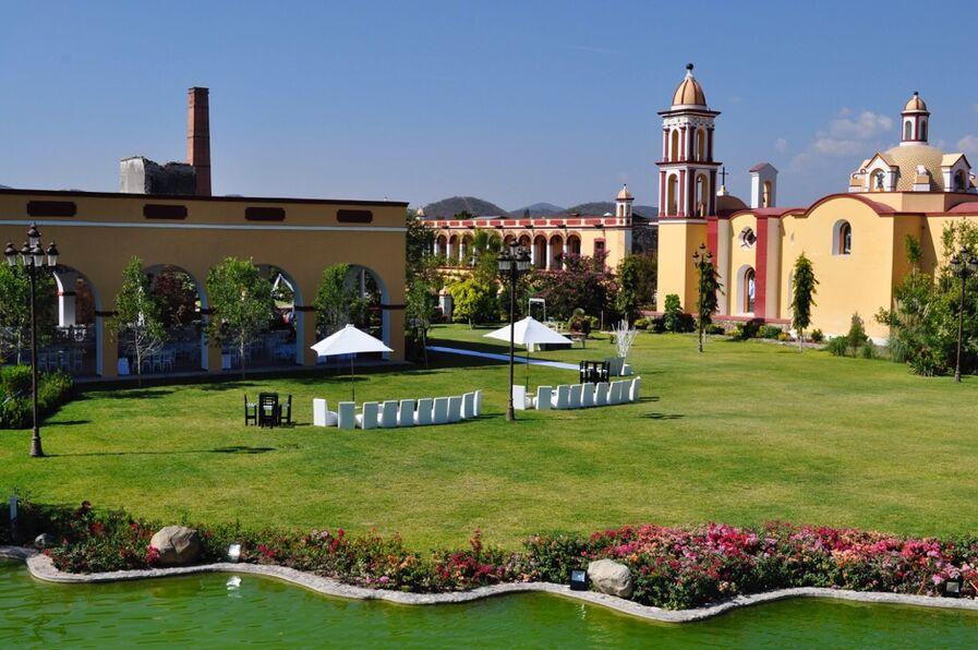 Hacienda Rijo - Evento en el Jardín Cascada