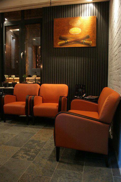 Beispiel: Zigarrenlounge, Foto: Landhotel Rittmeister.