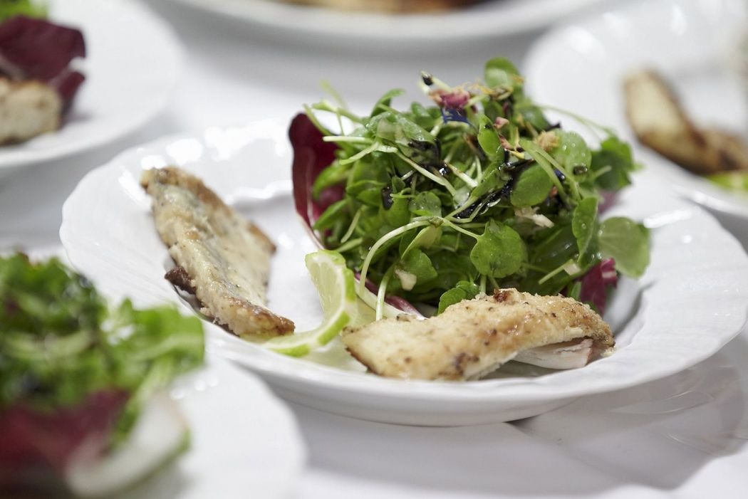 Beispiel: Kulinarische Genüsse, Foto: Partyservice Wahler.