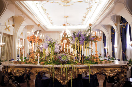 Decoración floral boda Cris y Santi.