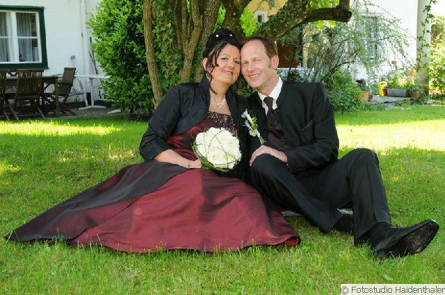 Beispiel: Hochzeitsfotografie, Foto: Fotostudio Haidenthaler.