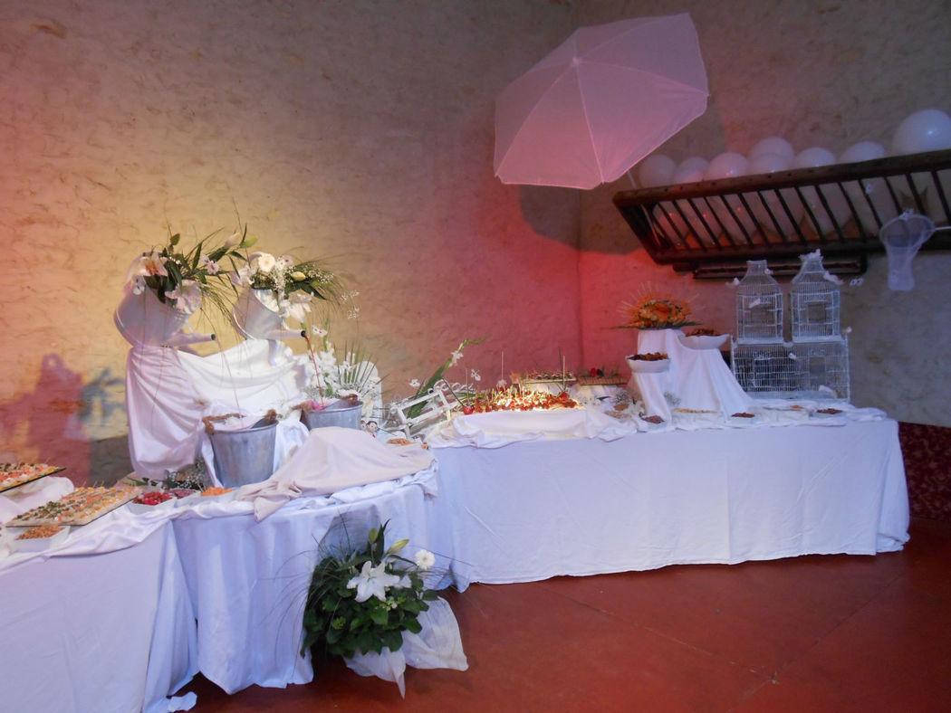 Buffet de cocktail intérieur
