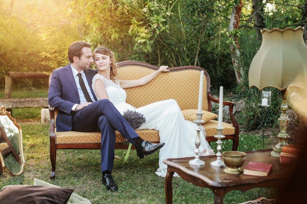 Mariage dans les Alpilles de Manja & Maxim ©Clément Minair Photographe