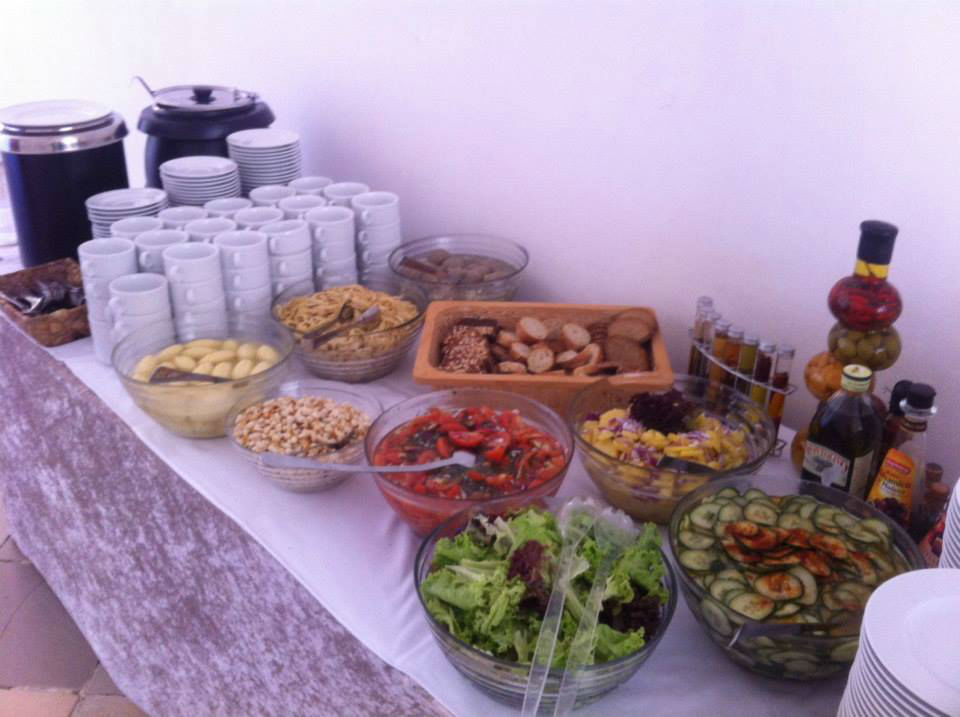Beispiel: Suppen- und Salatbuffet, Foto: Bar and more Eventcatering.